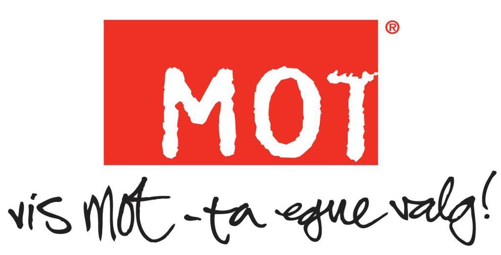 Logo til MOT. Bilde
