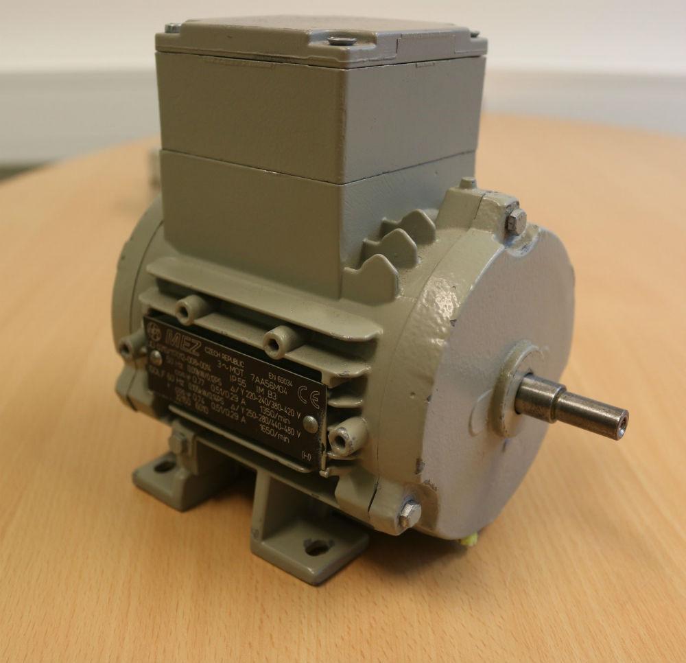 3-fas asynkron motor. Foto.