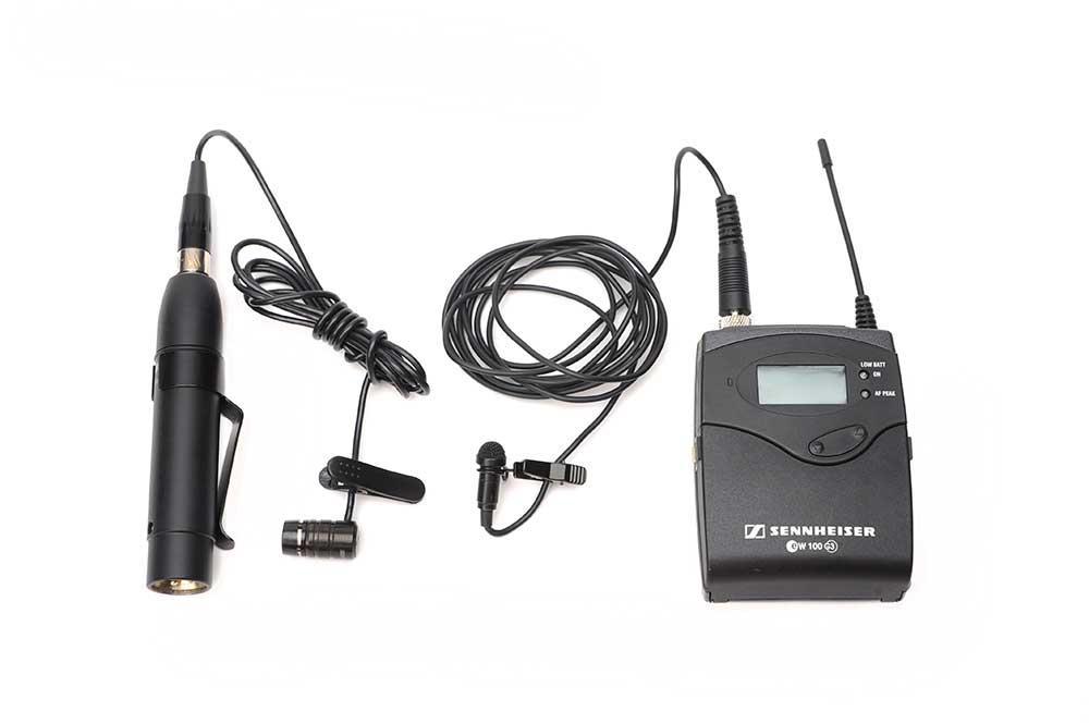 Lydopptaker påkoblet myggmikrofon. Foto.