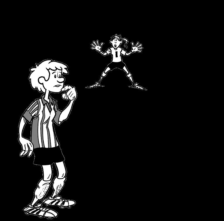 Fotballspiller og keeper. Illustrasjon.