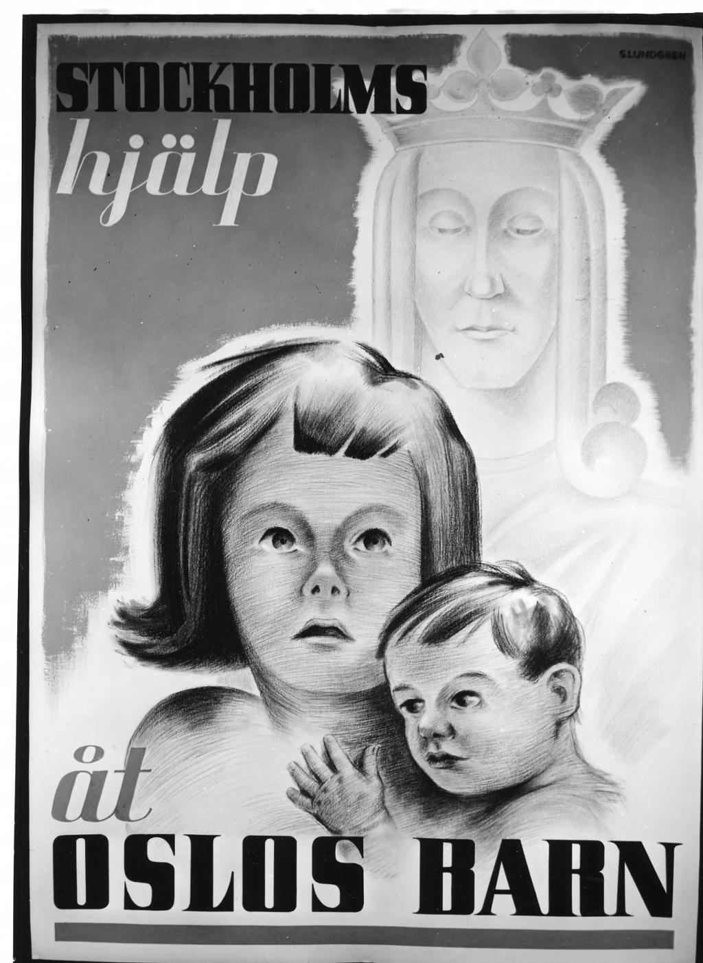Plakat for Norgeshjelpen