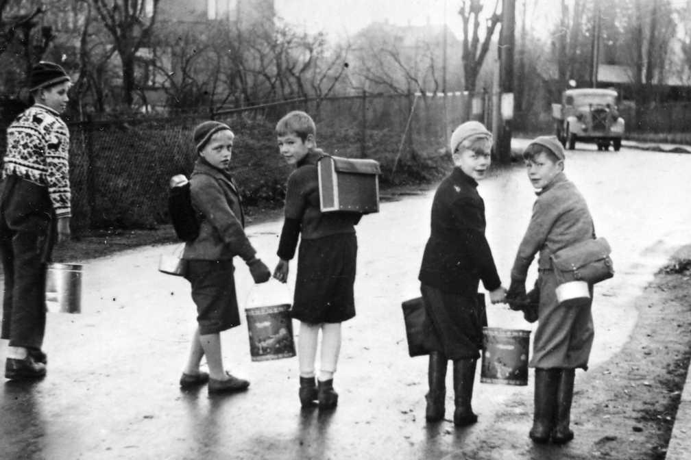 norske barn henter suppe
