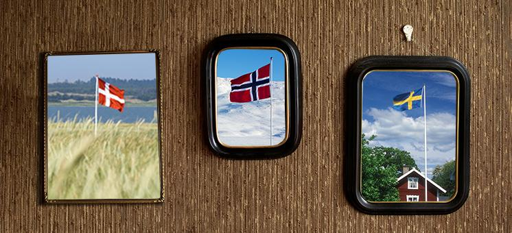 Skandinaviske flagg