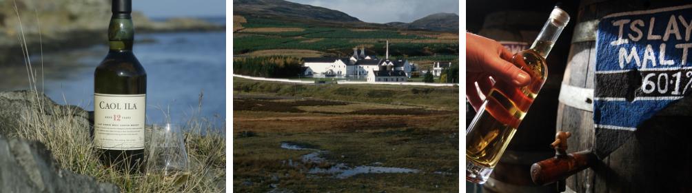 Kollasj: Whisky og distrikter