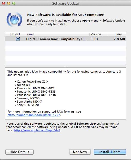 Ny programvare tilgjengelig for Mac IOS