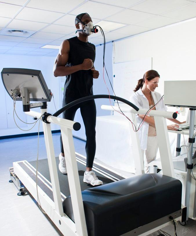 Måling av oksygenopptak hos idrettsutøvere
