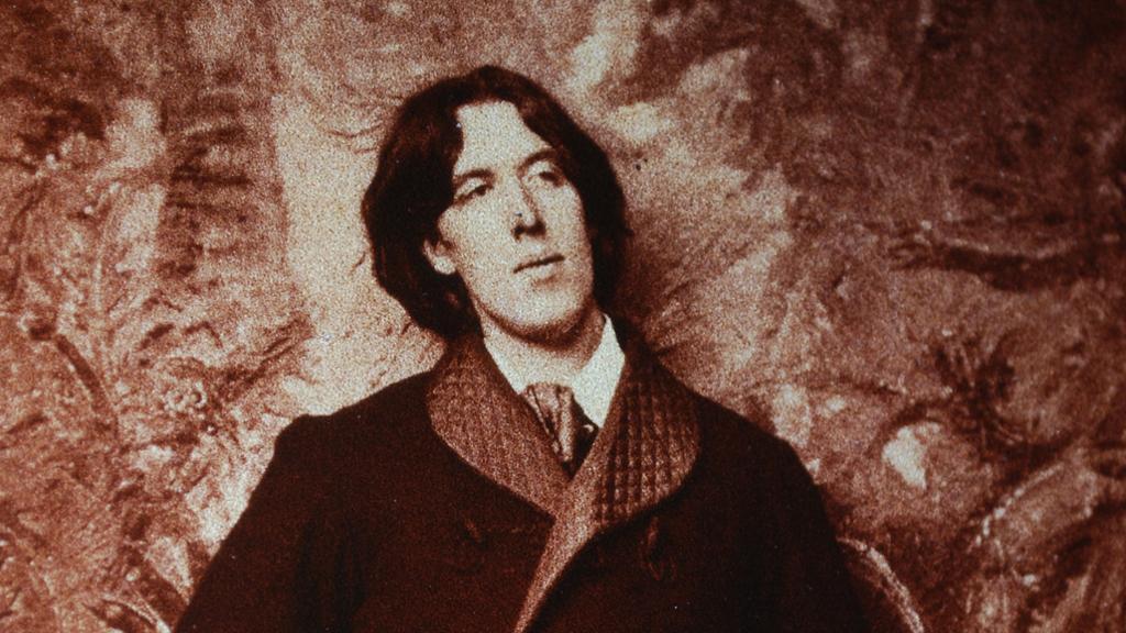 Oscar Wilde. Foto.
