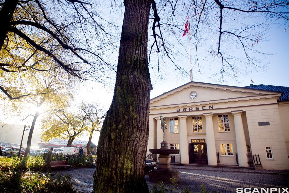 Oslo børs. Foto.