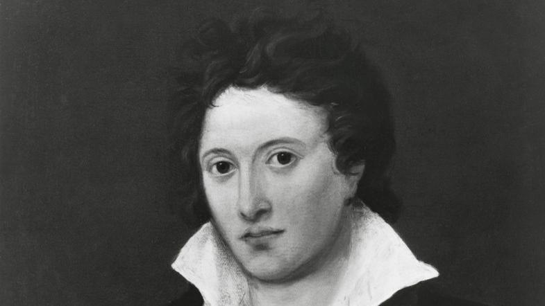 Percy Bysshe Shelley. Foto.