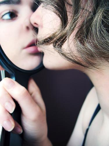 boy and girl in close contact.photo.