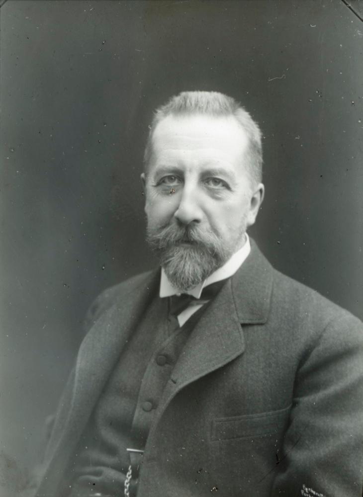 Portrett av Christian Michelsen i 1905. Foto.