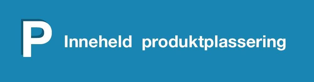 Merking for produktplassering på tv