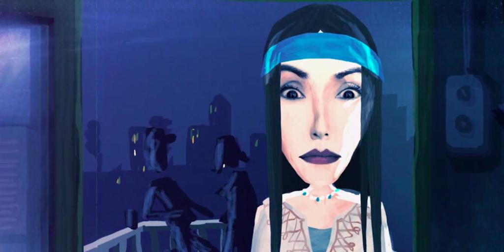 Animert bilde fra filmen Rebel. Foto.