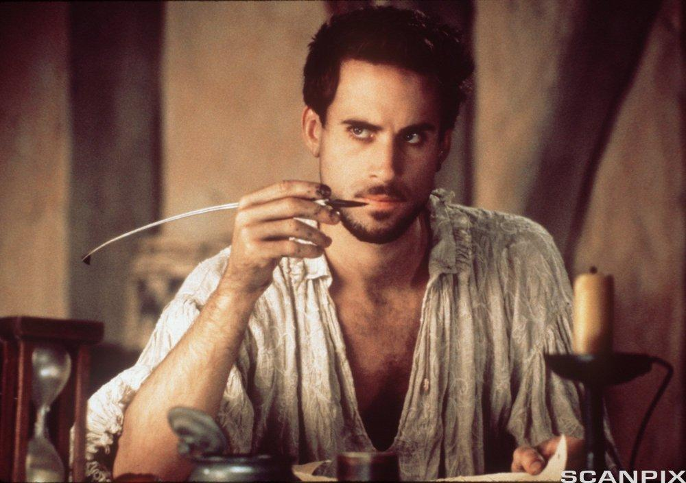 Joseph Fiennes as young William Shakespeare