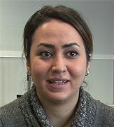 Portrett Sheida Jahanbin