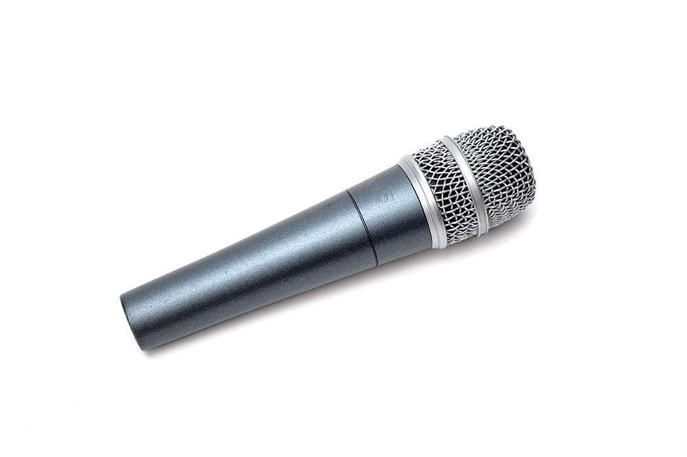 Mikrofon. Foto.