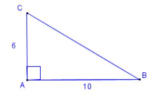 Rettvinkla trekant. Illustrasjon.