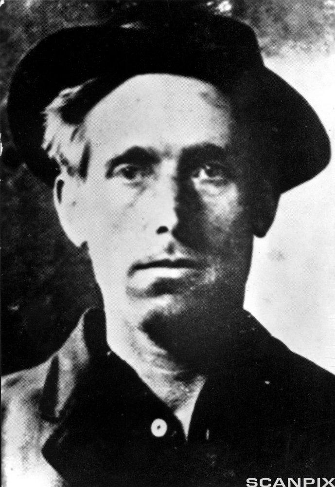 Joe Hill after the Arrest in Salt Lake City 1914.