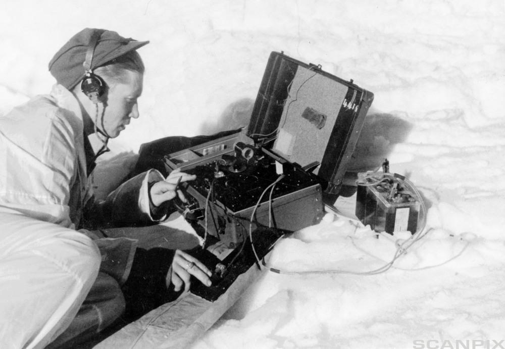 Illegal feltradio 1940-45