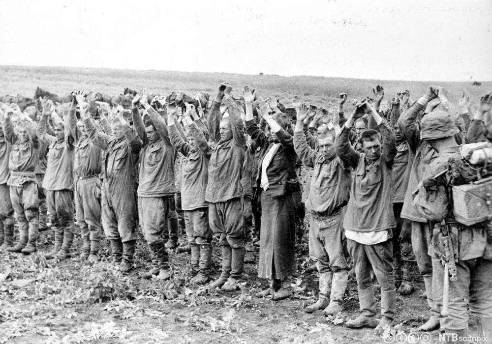 krigfanger Østfronten