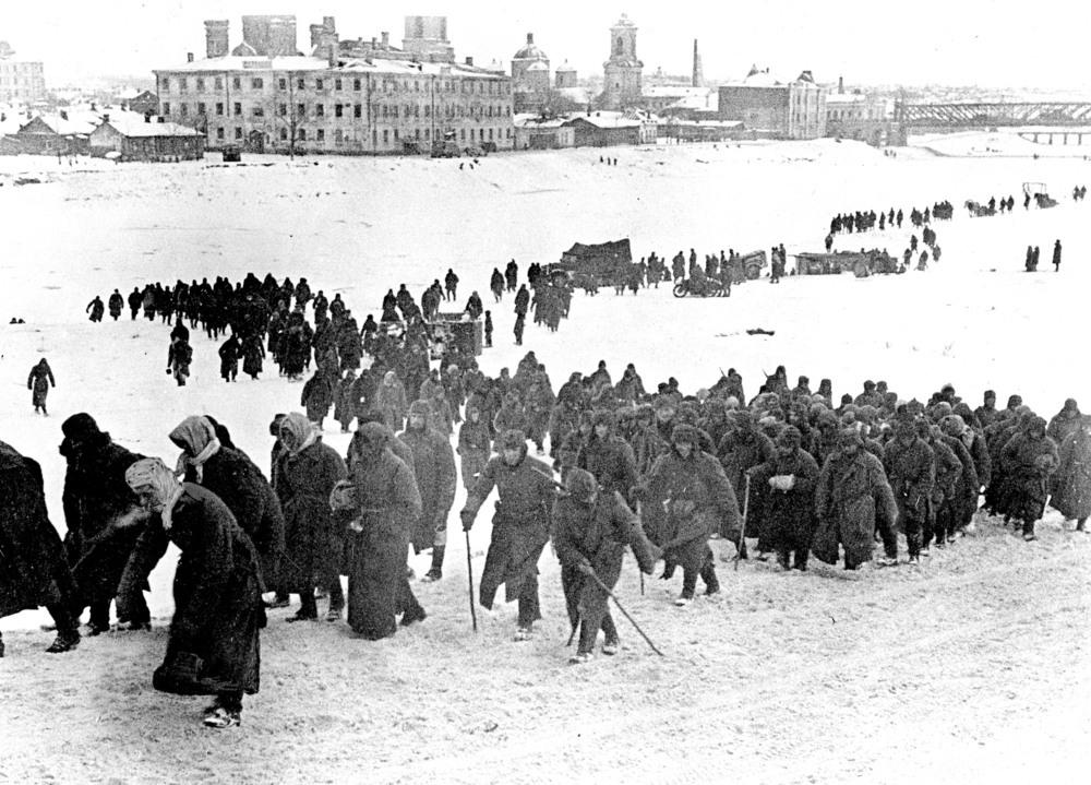 krigsfanger Østfronten
