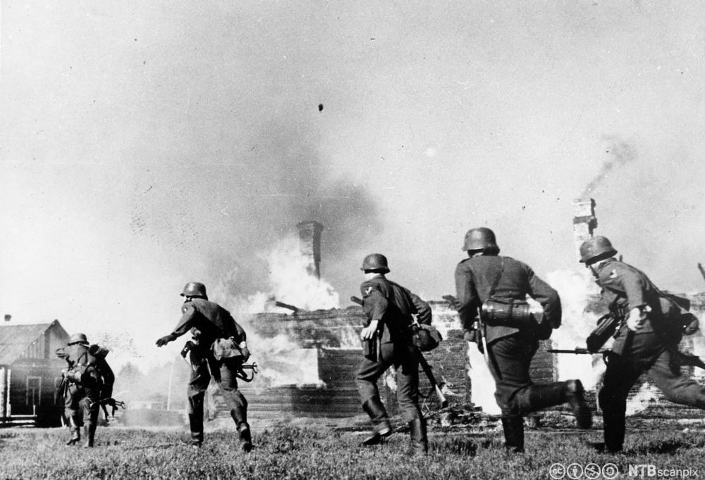 Tyske soldater, Østfronten 1941