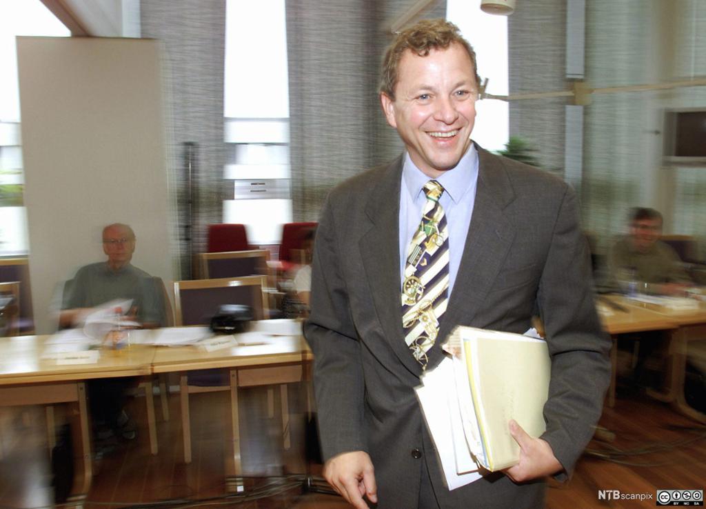John G. Bernander på NHOs årskonferanse i 2011