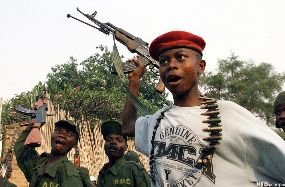 internasjonal engelsk child soldiers ndla