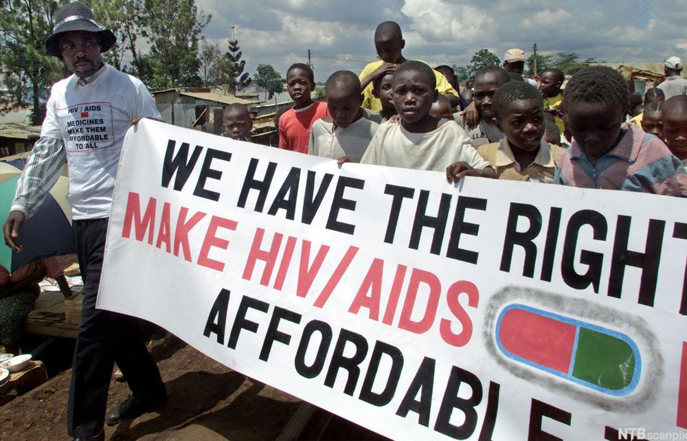 Aids Campaigners
