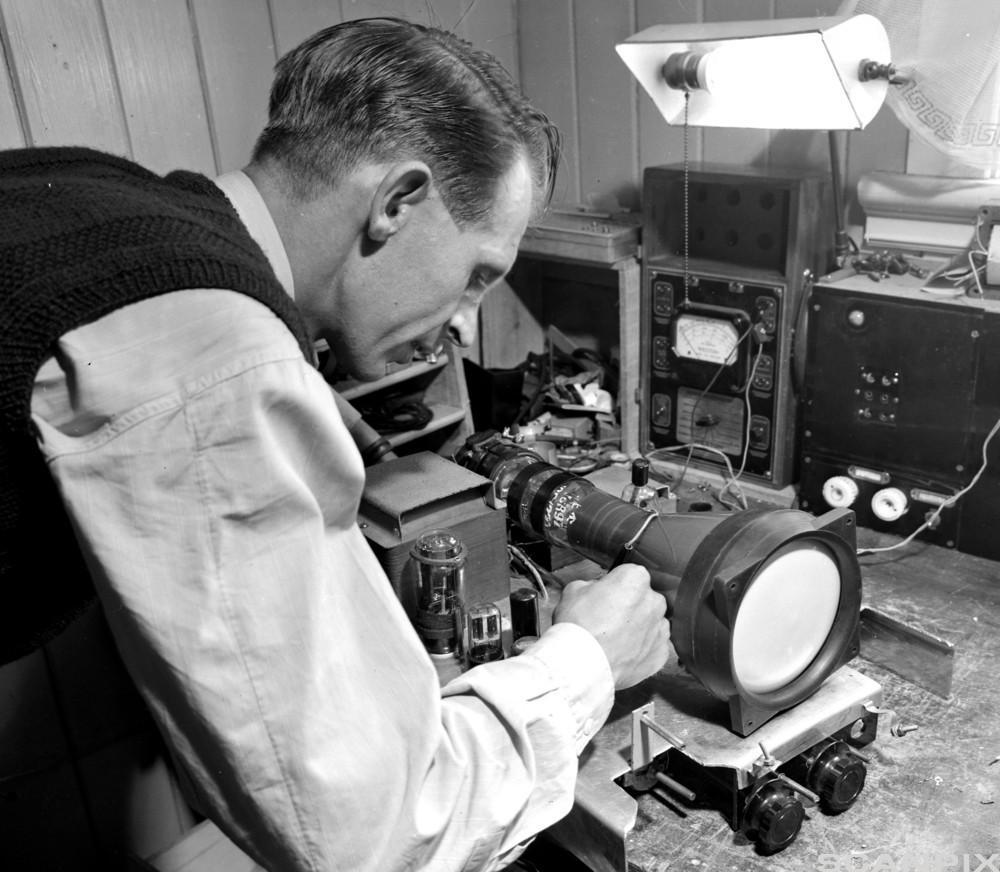 Fjernsynsmottaker Tjøme Radio 1952