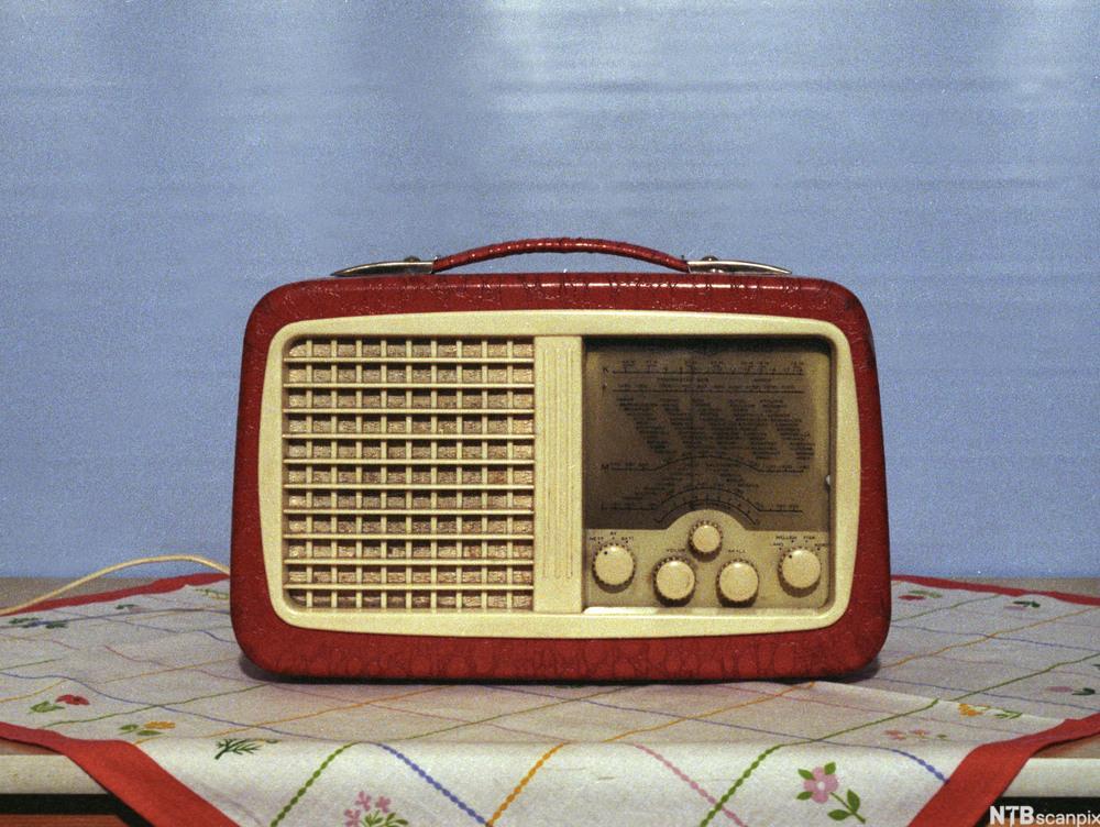 Gammel reiseradio. Foto.