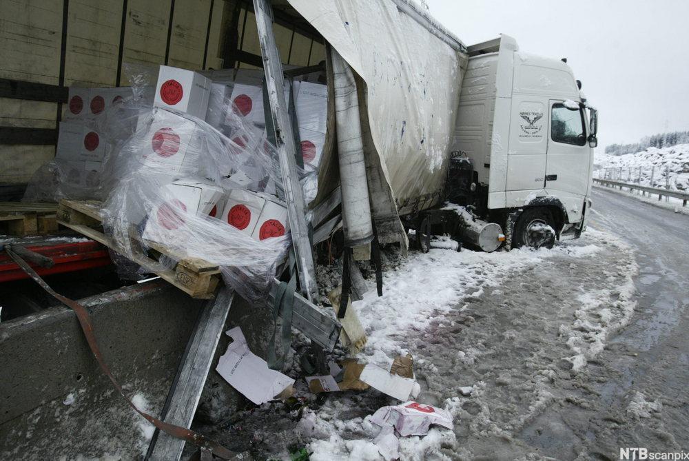 De som får skadet godset sitt, har krav på erstatning fra transportøren.