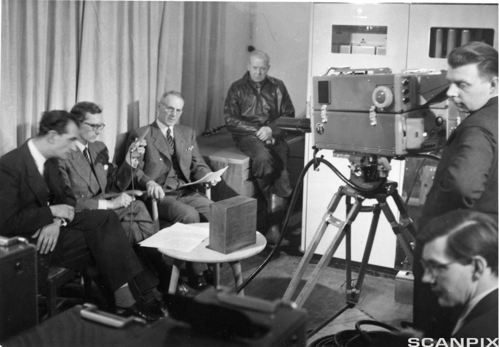 Fjernsynets start i Norge
