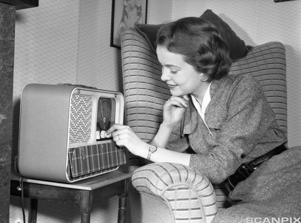 Radiolytting på 50-tallet