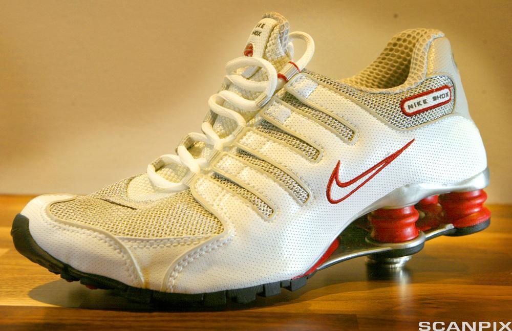 Bilde av en joggesko fra Nike.