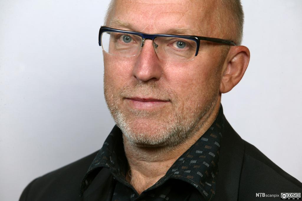 Portrett av Sven Egil Omdal. Foto.