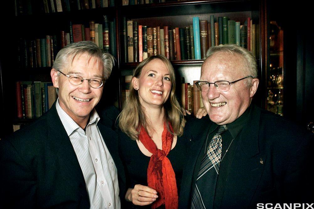 Sylfest Lomheim, Per Egil Hegge og Helene Uri