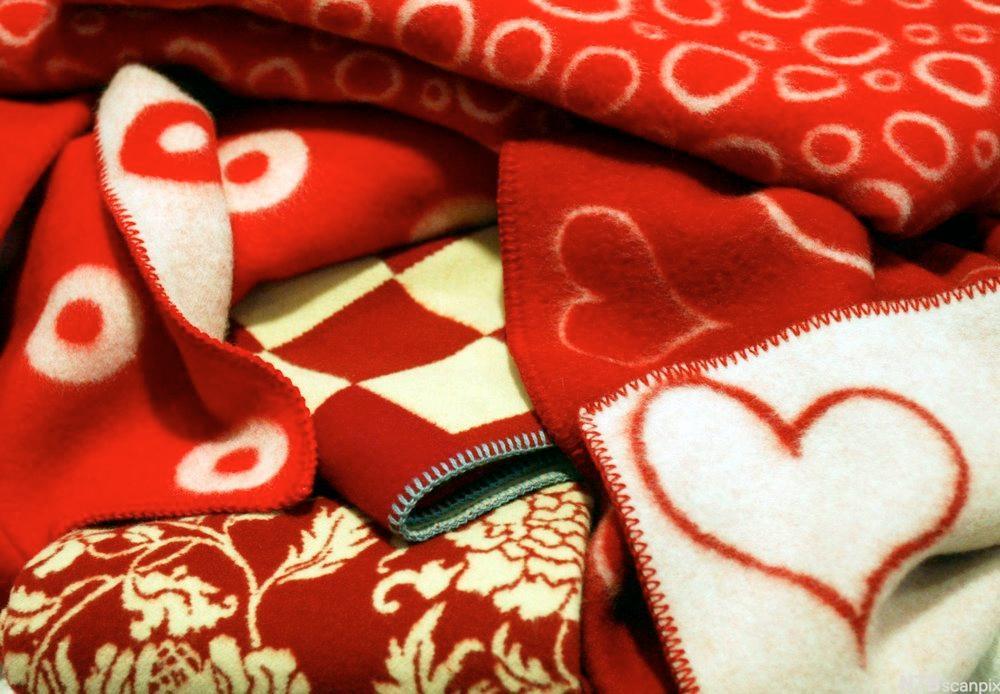 Pledd produsert av Røros-Tweed