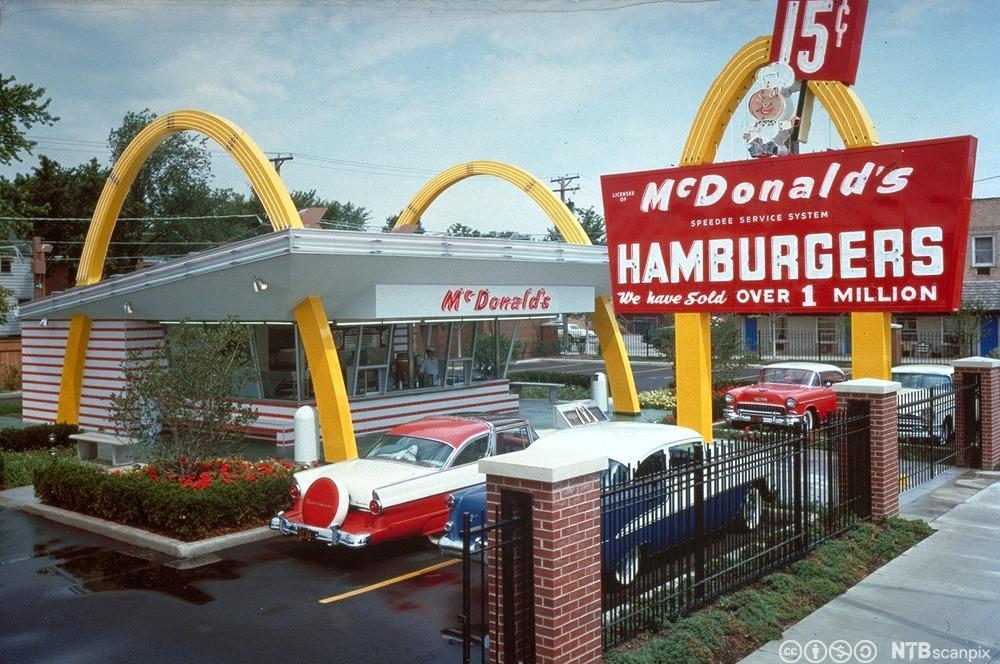 McDonalds Restaurant. Foto.