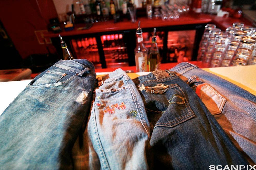Jeans. Foto.