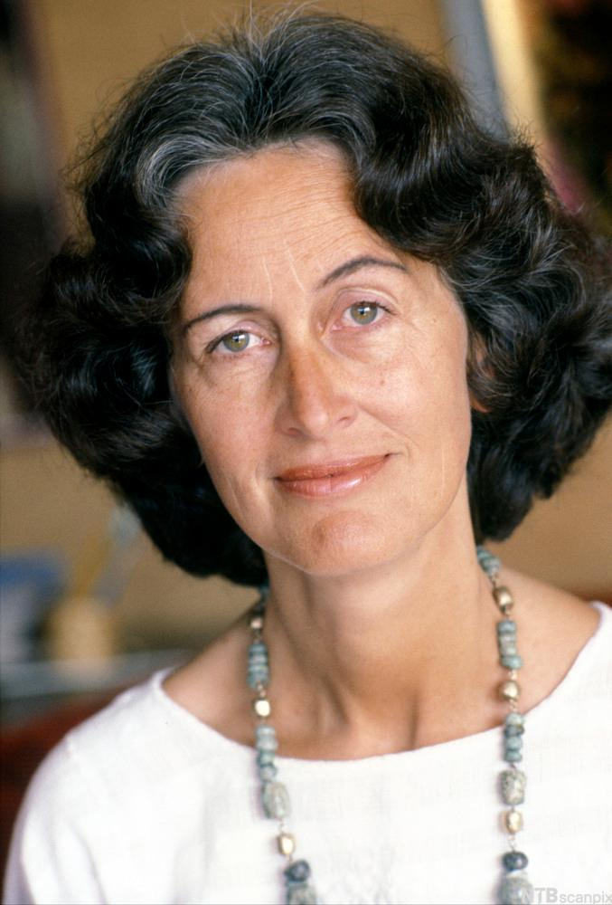 Portrettbilde av den norske forfatteren og lyrikeren Åse-Marie Nesse