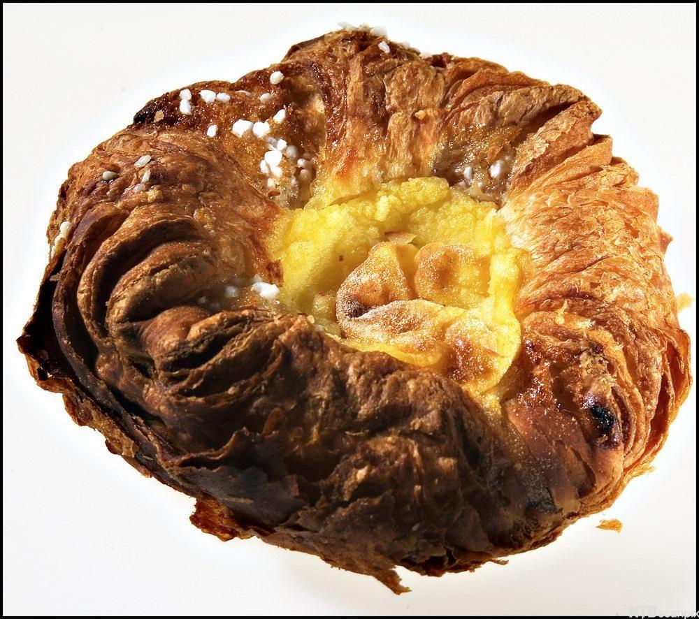 Bilde av et wienerbrød. Foto.