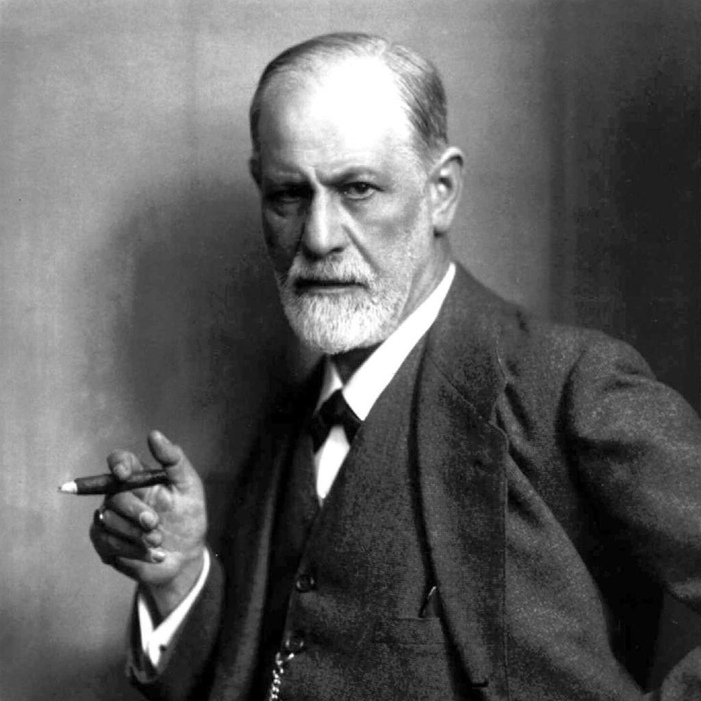 Sigmund Freud. Foto.