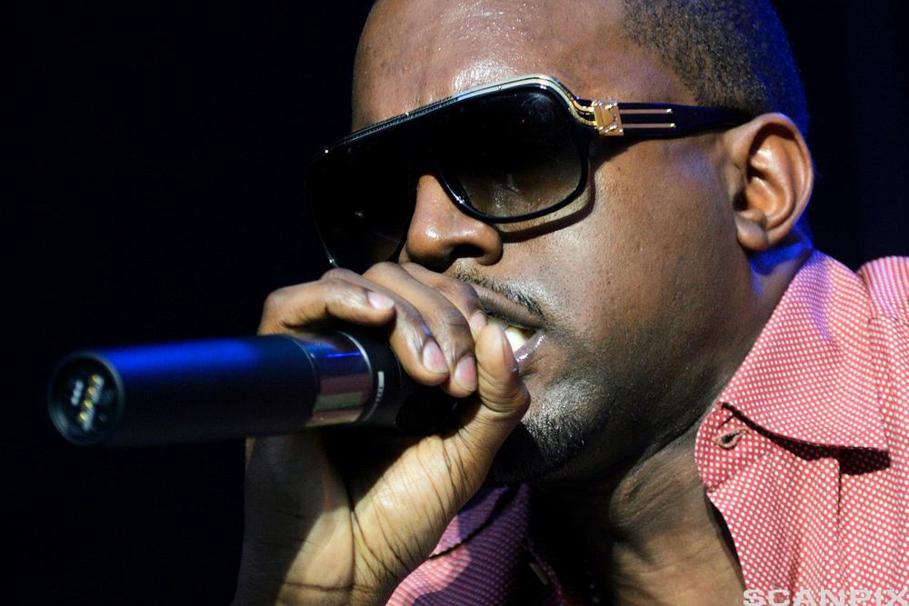 Portrett av artisten Kanye West