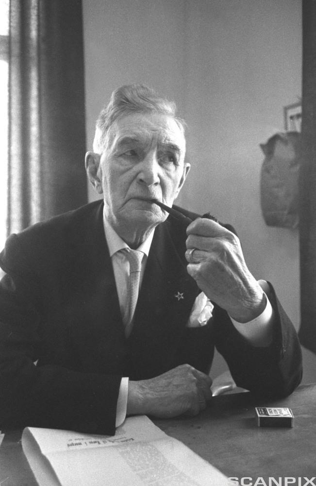 Johan Falkberget var i en epriode redaktør i avisa Fjell-Ljom