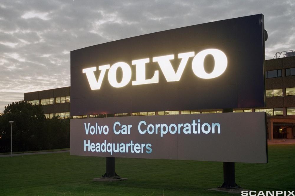 Volvos hovedkontor. Foto.
