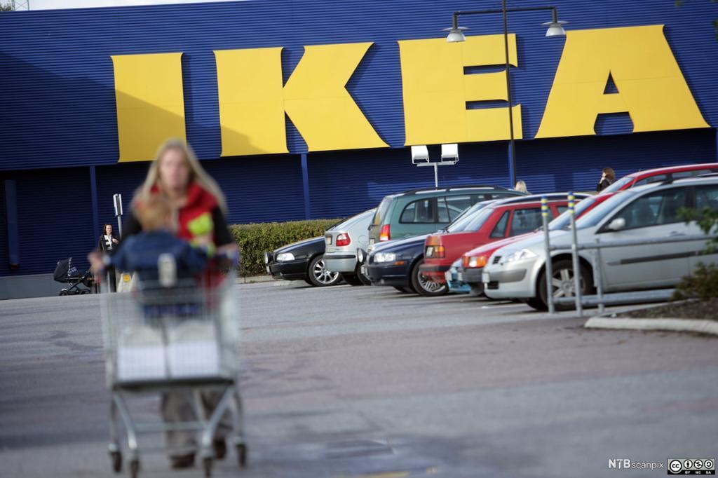 Ingvar Kamprad, grunnleggeren av IKEA. Foto.