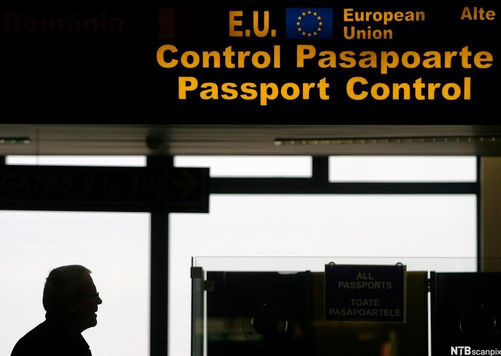 passkontroll EU