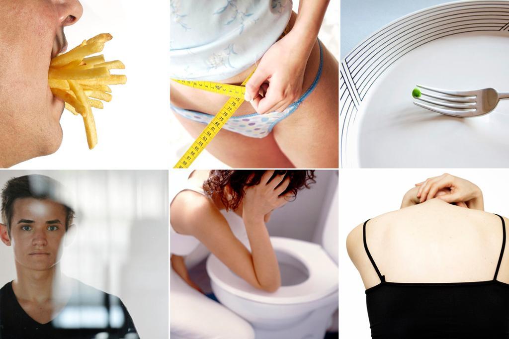 Spiseforstyrrelser (kollasje)