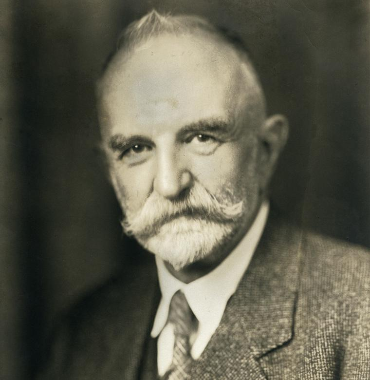 Portrett av sosiologen Geroge Herbert Mead. Foto.